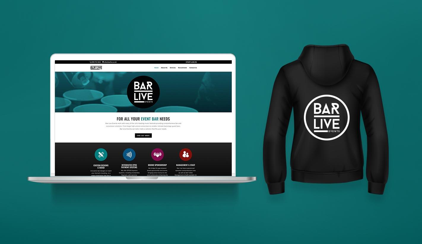 Website Design for Bar Live UK