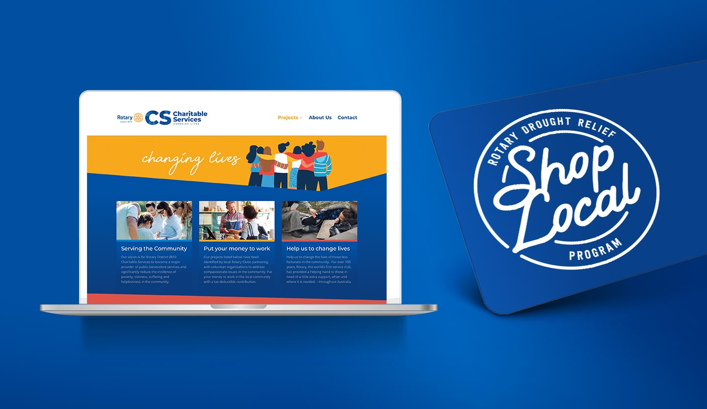 Website Design for Rotary 9810 Charitable Services