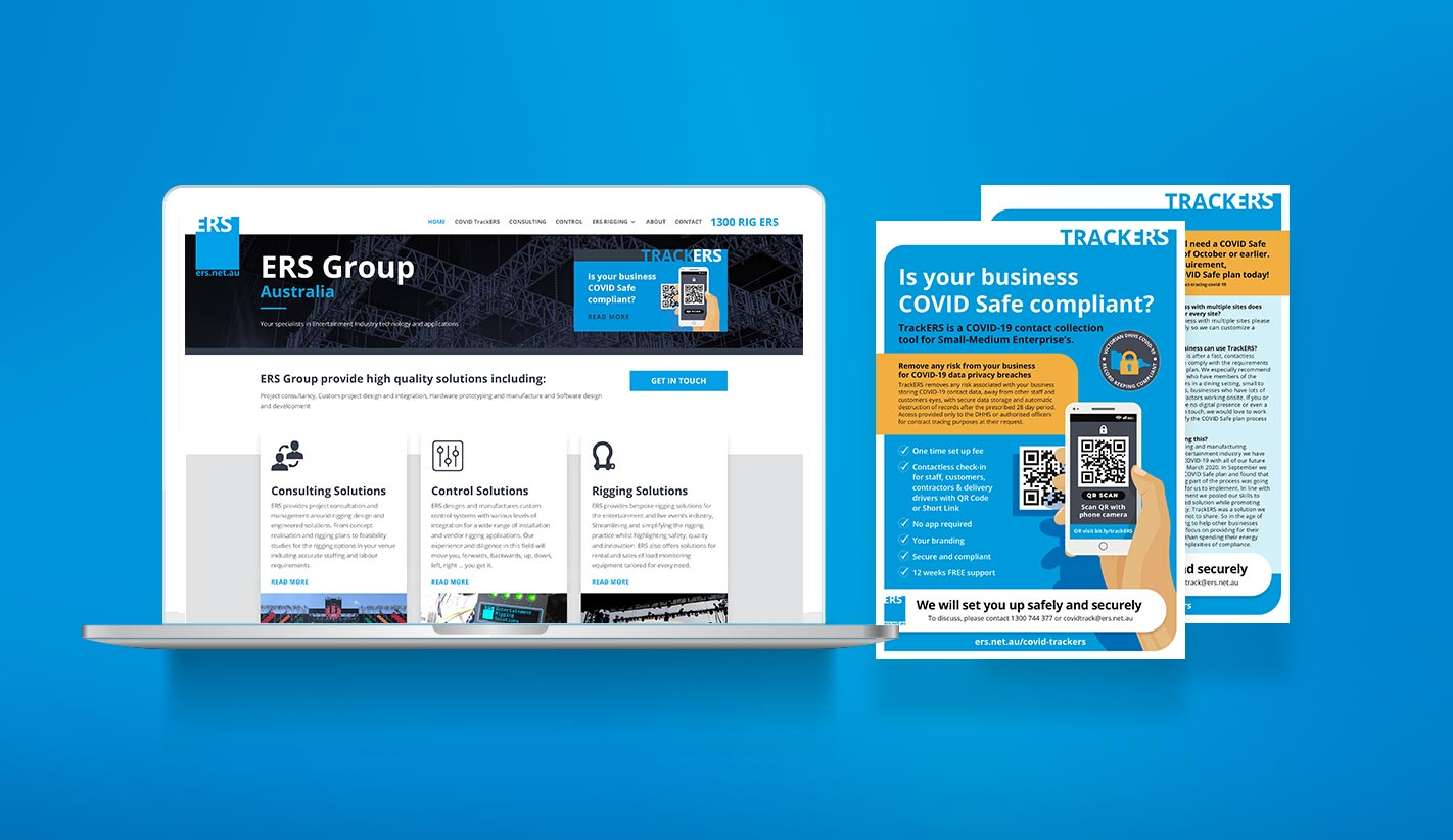Website Design for ERS Group