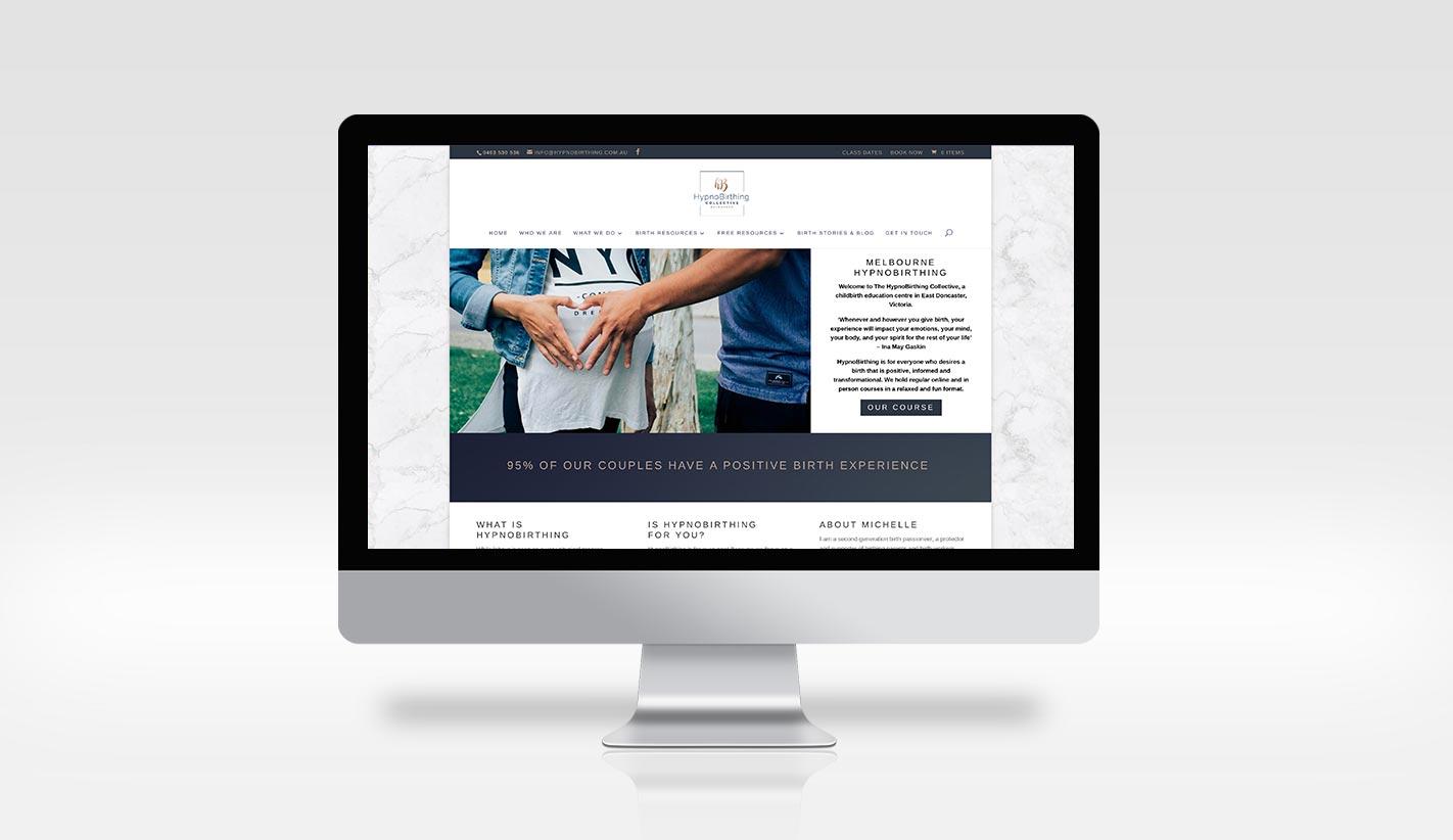 Website Design for HypnoBirthing